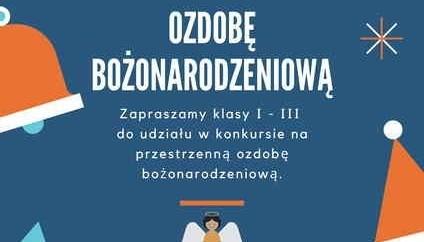 Obrazek newsa Wyniki Szkolnego Konkursu Plastycznego na OZDOBĘ BOŻONARODZENIOWĄ dla kl. I - III